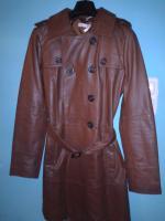 Foto 3 mantel aus leder