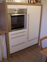Foto 3 moderne NOLTE-Küche hochglanz-weiß L-Form zu verkaufen