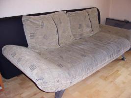 modernes Sofa mit Bettfunktion + 2 Sessel