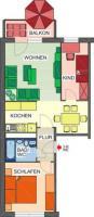 nette Mieter gesucht: 3-Raum-Wohnung in Chemnitz-Markersdorf