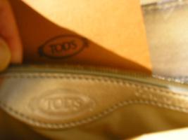 Foto 3 neu, original tasche von TOD´S, mit sertifikat, silber.