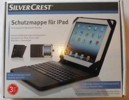 neue SILVERCREST® Schutzmappe für iPad mit Bluetooth-Tastatur