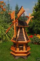 neue Windm�hle wundersch�n und sehr gro� aus Holz 59,00