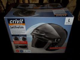 neuwertiger Jethelm crivit Größe L ( unbenutzter Helm ! )