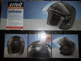 Foto 3 neuwertiger Jethelm crivit Größe L ( unbenutzter Helm ! )