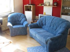 neuwertiges 2er Sofa mit Sessel