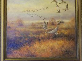 oel Gemälde  , original Rechlin, 70x80