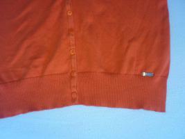 Foto 3 orangefarbener Cardigan von Essentials by Esprit