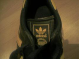 Foto 3 org. ADIDAS Schuhe unisex, dunkelgr�n/gelb, Samba