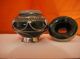 Foto 2 orientalischer keramik aschenbecher