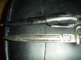 Foto 3 original bajonet mit klingenätzung