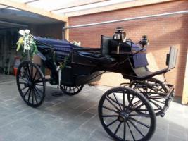 Foto 2 originaler Landauer Hochzeitskutsche Festkutsche