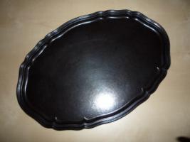 ovale Kuchenplatte
