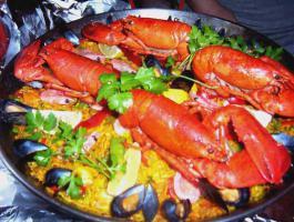 Foto 3 paella live koch und lieferservice