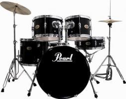 pearl schlagzeug farbe schwarz laut foto in salzburg von. Black Bedroom Furniture Sets. Home Design Ideas