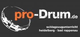pro-Drum.de Schlagzeugunterricht Heidelberg, Bad Rappenau/Heilbronn
