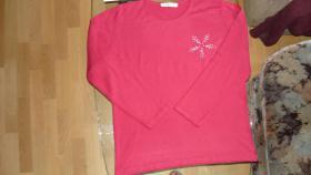 rosa / pink Langarmoberteil / cashmasoft.