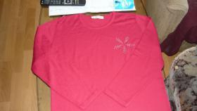 Foto 2 rosa / pink Langarmoberteil / cashmasoft.