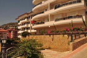schöne Ferienwohnung in Alanya mit Meerblick und Burgblick