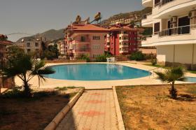 Foto 3 schöne Ferienwohnung in Alanya mit Meerblick und Burgblick