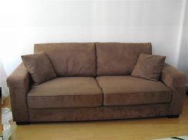 schöne Velours Couch vhb 179,00 Euro