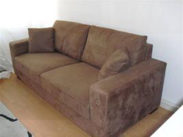 Foto 4 schöne Velours Couch vhb 179,00 Euro
