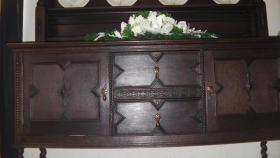 Foto 5 schöne antike tellerschrank