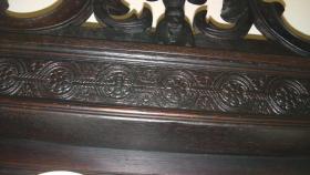 Foto 8 schöne antike tellerschrank