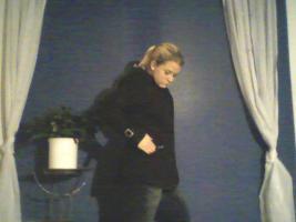 Foto 2 schöne schwarzer mantel von clockhouse (C&A) GR. L