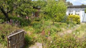 schöner Garten inklusive Abwassertank in der Südstadt