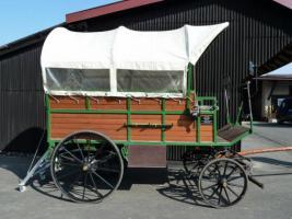 Foto 2 schöner großer Planwagen