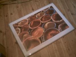 schönes Bild mit Gewürzen 70 x 50 cm