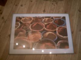 Foto 2 schönes Bild mit Gewürzen 70 x 50 cm
