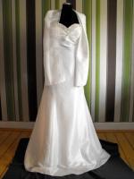 Foto 2 sch�nes Brautkleid / Hochzeitskleid in der Gr��e 42