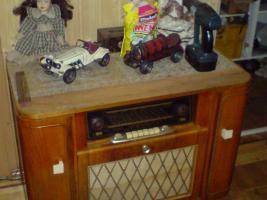 Foto 2 schönes altes radio