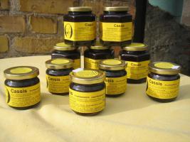 schwarze Johannisbeer Fruchtaufstrich 230g mit 75% Fruchtanteil