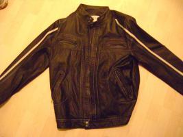schwarze Lederjacke mit Orginal Rechnung zu verkaufen  - 100%neu (NP 179€)