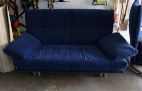 Foto 2 sehr gut erhaltene Rolf Benz Couch mit Sessel und Hocker