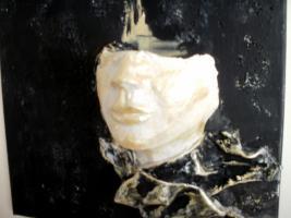 Foto 3 sehr schönes Wandbild Skulptur Einzelstück Handmade