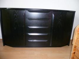 sideboard schwarz