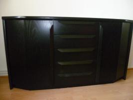 Foto 2 sideboard schwarz