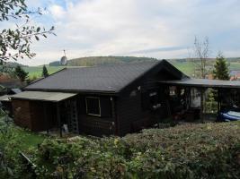skandinavisches Holzhaus