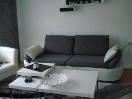 sofa gruppe echtleder+stoff