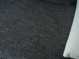 Foto 2 sofa gruppe echtleder+stoff