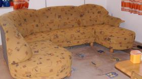 sofa/otomane im landhausstiel