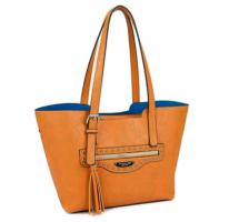 sommertasche von David Jones Markentasche Nieten Bag Designer