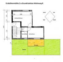 sonnige 2-Zimmerwohnung mit übedachter Terrasse