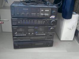 stereoanlage verschiedene bausteine