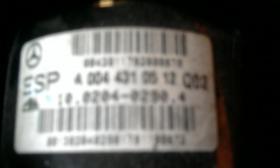 Foto 2 steuergerät für mercedes c 200 bezeichnung A 2035451632