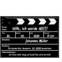 Stilvolle Einladungskarten Zum 40. Geburtstag In Elchingen Von Privat,  Einladung